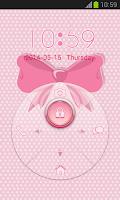 Screenshot of Pink Bow Locker