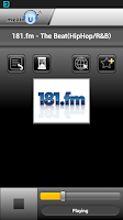 Screenshot of mediaU Radio Full