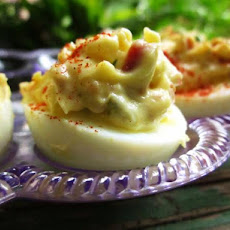 Bacon Deviled Eggs