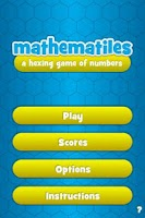 Screenshot of Mathematiles - A Math Game