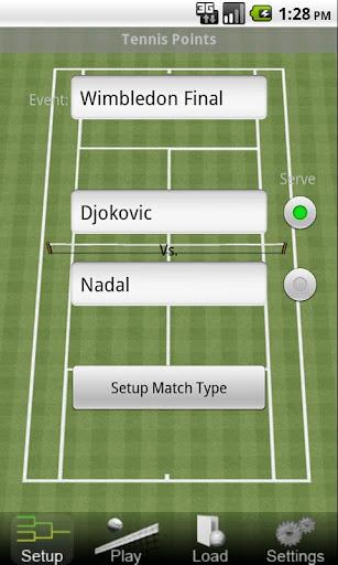 Tennis Points
