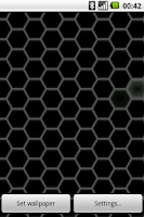Screenshot of Hex Pattern Live Wallpaper
