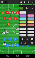 Screenshot of Soccer coach's clipboard