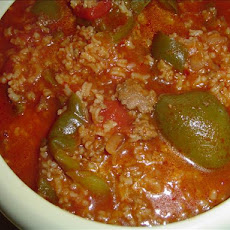 My Stuffed Bell Peppers Soup