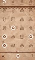 Screenshot of coffee time 도돌런처 테마