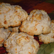 Garlic Cheese Drop Biscuits