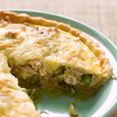 Lorraine Wallace's Quick Chicken and Vegetable Quiche