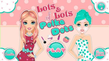 Screenshot of Lots of Polka Dots Makeover