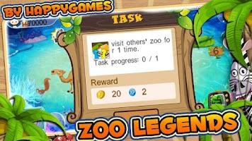 Screenshot of Zoo Legends