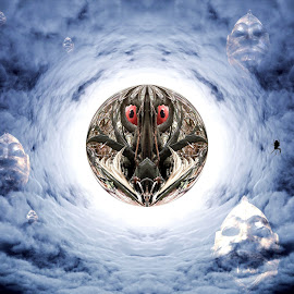 Jabberwocky Portents by Dark Reid - Digital Art Abstract (  )