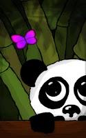 Screenshot of Panda Live Wallpaper Trial