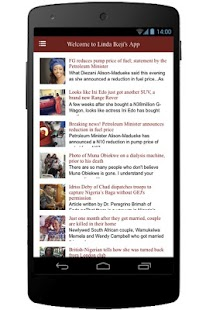 Linda Ikeji's App - screenshot