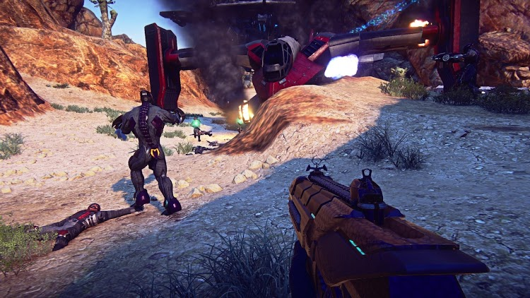 Planetside 2 framerate locked at 30fps on PS4