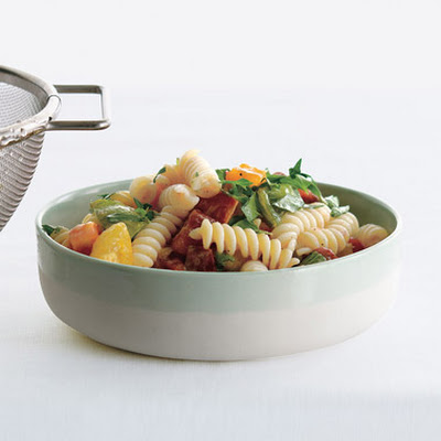 Heirloom Tomato Herb Pasta Salad