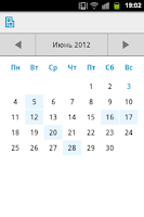 Screenshot of Органайзер Вирибус