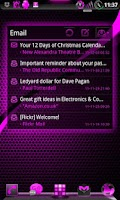 Screenshot of GOWidget AdeaPink ICS - Free