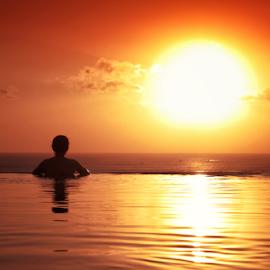 red sun by Aditya Perdana - Sports & Fitness Swimming