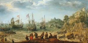 RIJKS: Adam Willaerts: painting 1621