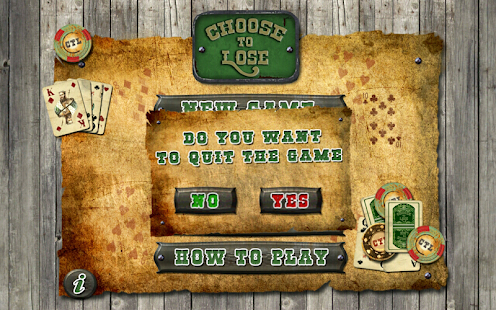 Solitaire - Choose to Lose - screenshot