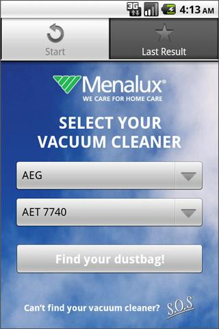 Menalux Dustbag Finder