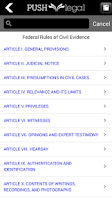 Screenshot of Statutes and Case Law Library