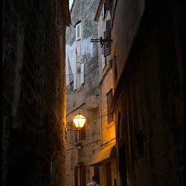 Trogir by Jelena Veronika Nenadić - City,  Street & Park  Street Scenes