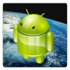 Flying Droid Live Wallpaper icon
