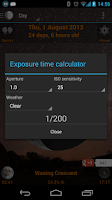 Screenshot of Moon Phases Widget