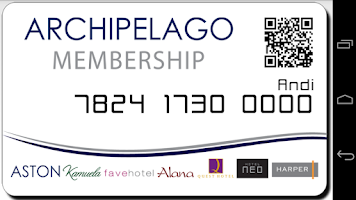 Screenshot of Archipelago Hotels Membership