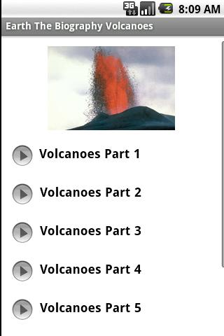 Earth The Biography Volcanoes