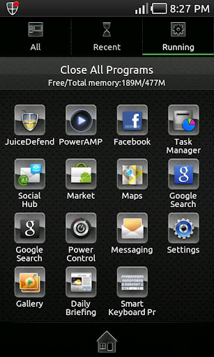 Glass Metal Theme Go Launcher
