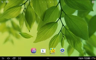 Screenshot of Leaf Live Wallpaper Galaxy S4