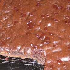 Light Carrot Cocoa Snack Cake --(Brownies)