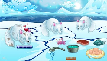 Screenshot of Arctic Foxes