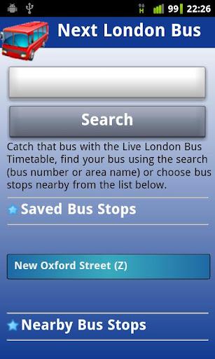 Next London Bus Live