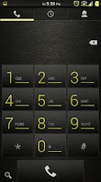Screenshot of Leather Yellow CM11/AOKP Theme