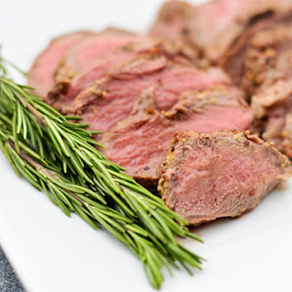 Grilled Butterflied Leg of Lamb with Rosemary, Garlic, and Mustard Crust