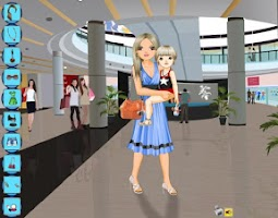 Screenshot of Mommy Dressup