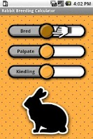 Screenshot of Rabbit Breeding Calculator