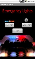 Screenshot of Emergency Lights