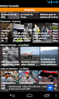 Screenshot of Venezuelan News