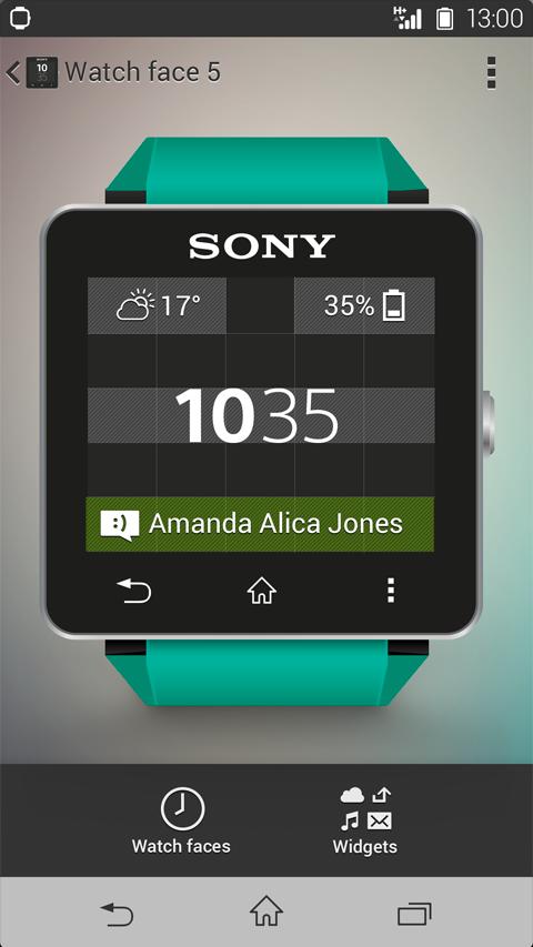 SmartWatch 0 SW2 – Screenshot