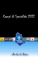 Screenshot of Campi Specialità Umbria 2012