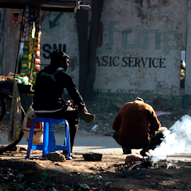 by Kshitish Pandey - City,  Street & Park  Street Scenes