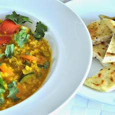 Quick and Easy 5 Vegetable Dhal