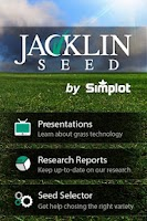 Screenshot of Jacklin Seed App