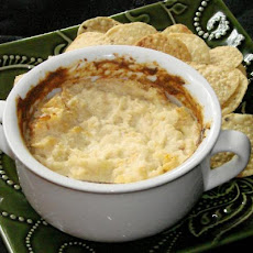 Hot Oniony Cheese Dip