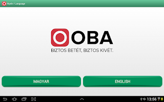 Screenshot of OBA Betétőr