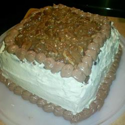 Pralines, Coffee and Cream Cake