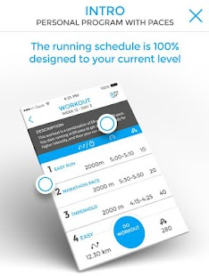 HELP2RUN - coach and schedules - screenshot